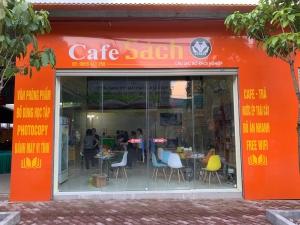 Quán cafe - Sách, câu lạc bộ khởi nghiệp