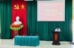 Hội nghị cán bộ, viên chức và người lao động năm học 2019 - 2020