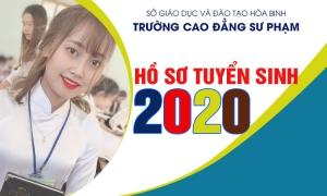 Hồ sơ tuyển sinh năm 2020 - Trường Cao đẳng Sư phạm Hòa Bình