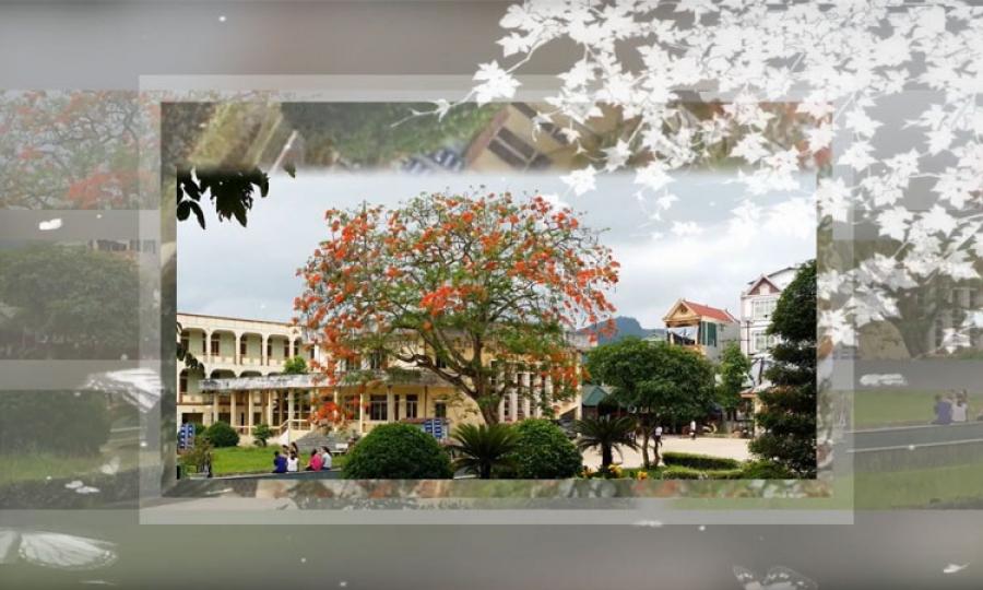Trường Cao đẳng Sư phạm Hòa Bình - Bức ảnh kỷ niệm