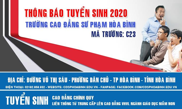 Thông báo tuyển sinh 2020