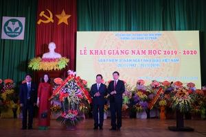 Trường Cao đẳng Sư phạm Hòa Bình khai giảng năm học 2019 - 2020 và Kỷ niệm 37 năm ngày Nhà giáo Việt Nam