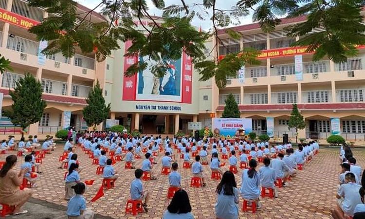 Trường phổ thông thực hành chất lượng cao Nguyễn Tất Thành, khai giảng năm học mới 2021-2022