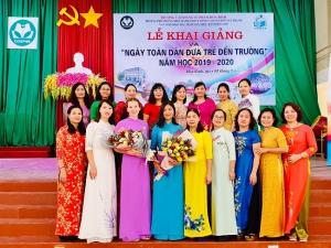Cơ sở GDMN Thực hành Hoa Sen và trường PTTH Chất lượng cao Nguyễn Tất Thành trực thuộc trường Cao đẳng Sư phạm Hòa Bình khai giảng năm học 2019 – 2020